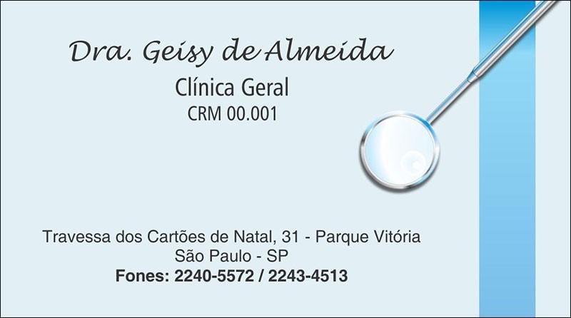 Cartão de Visita - Cod: 006