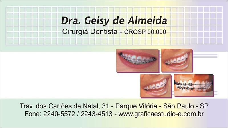 Cartão de Visita com Verniz - Cod: 036