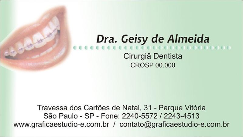 Cartão de Visita - Cod: 038