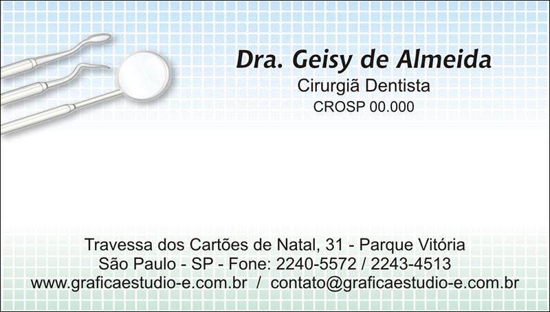 Cartão de Visita com Verniz - Cod: 048