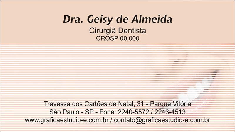 Cartão de Visita com Verniz - Cod: 056