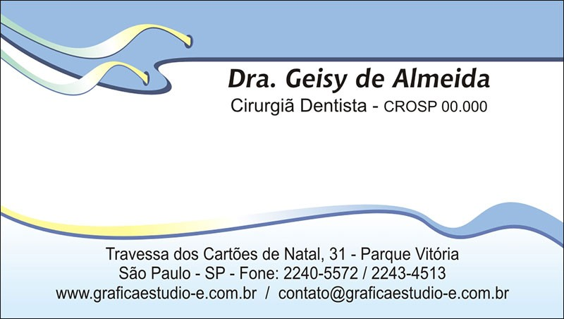 Cartão de Visita - Cod: 106