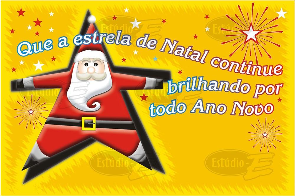 Postais de Natal Não Personalizados - 100 Unidades - Cod: N-M044
