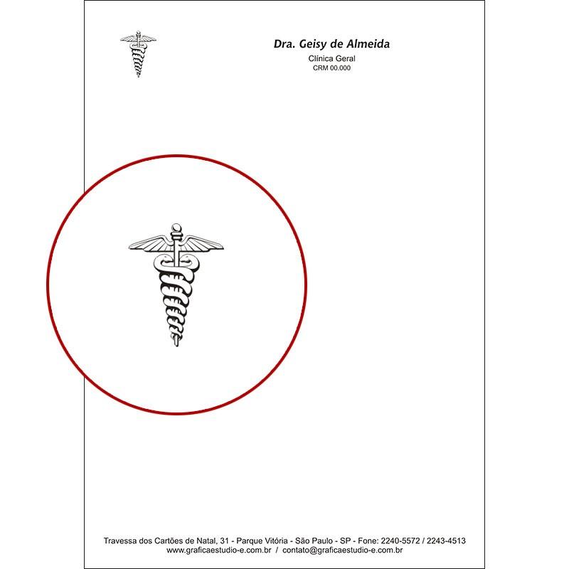 Receituário Médico PB - Cod: M103