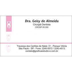 Cartão de Visita - Cod: 004 Rosa CB