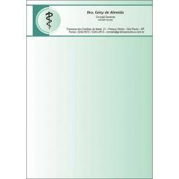 Receituário Colorido - Cod: 015 Verde