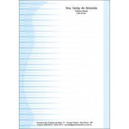 Receituário Médico Colorido - Cod: M018