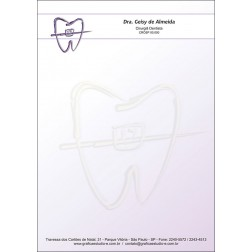 Receituário Colorido - Cod: 021 - Lilás