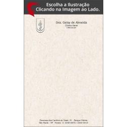 Receituário Odontológico Reciclado / Eco