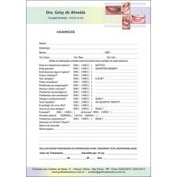 Anamnese Colorida - Cod: 036