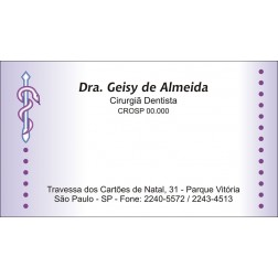 Cartão de Visita - Cod: 040