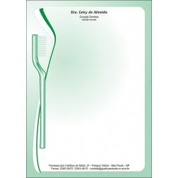 Receituário Colorido - Cod: 044 Verde