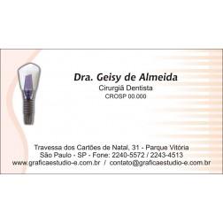 Cartão de Visita com Verniz - Cod: 050