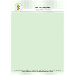 Receituário Colorido - Cod: 051