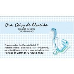 Cartão de Visita com Verniz - Cod: 057