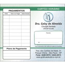 Carteirinha de Próxima Consulta e Pagamento Personalizado - Cod: 060