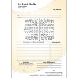 Orçamento Colorido - Modelo A - Cod: 061