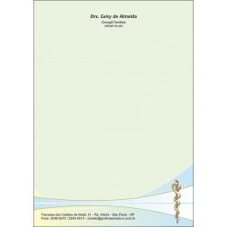 Receituário Colorido - Cod: 062