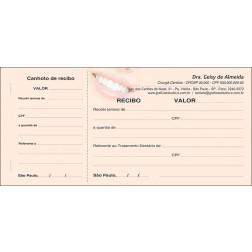 Recibo com Canhoto Colorido - Cod: 063