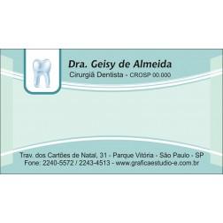 Cartão de Visita com Verniz - Cod: 065