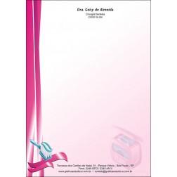 Receituário Colorido - Cod: 067