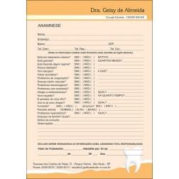 Anamnese Colorida - Cod: 069