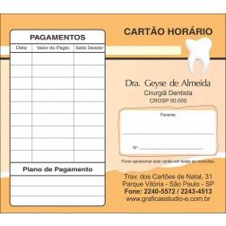 Carteirinha de Próxima Consulta e Pagamento Personalizado - Cod: 069