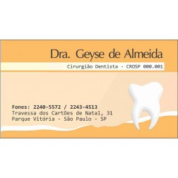 Cartão de Visita com Verniz - Cod: 069