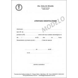 Atestado Odontológico PB - 005