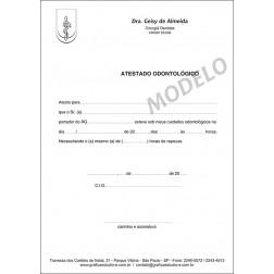 Atestado Odontológico PB - 035