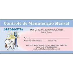 50 Carnês de Ortodontia - 001 - Capa Rosa