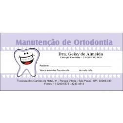 50 Carnês de Ortodontia - 007 - Capa Lilás