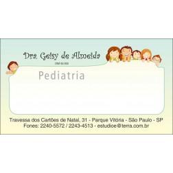 Cartão de Visita Médico com Verniz - Cod: M170
