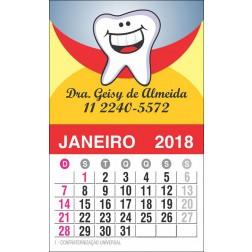 Imãs de Geladeira com Calendário para Dentistas - 026 C-CAL