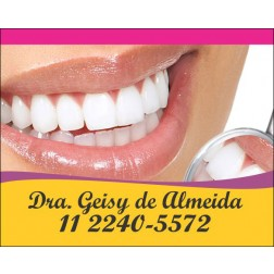 Imãs de Geladeira para Dentistas - 023