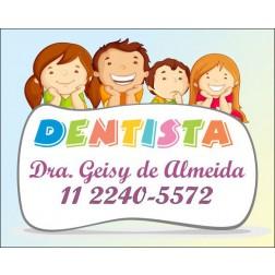 Imãs de Geladeira para Dentistas - 027