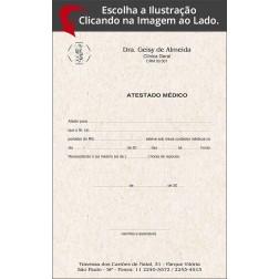 Atestado Médico Reciclado / Eco