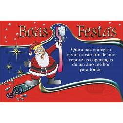 Postais de Natal Não Personalizados - 100 Unidades - Cod: N004
