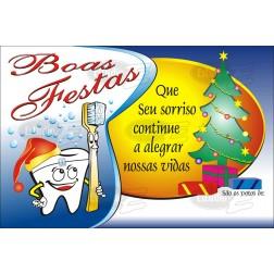 Postais de Natal Não Personalizados - 100 Unidades - Cod: N022