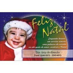 Postais de Natal Personalizados - 100 Unidades - Cod: N027