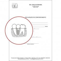 Declaração de Comparecimento PB - 037