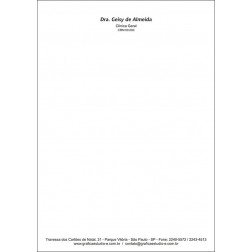Receituário Médico PB - Cod: M100