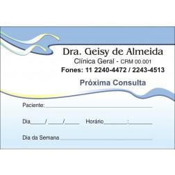 Blocos de Próxima Consulta para Médicos - Cod: M106