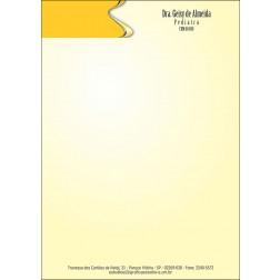 Receituário Médico Colorido - Cod: M172