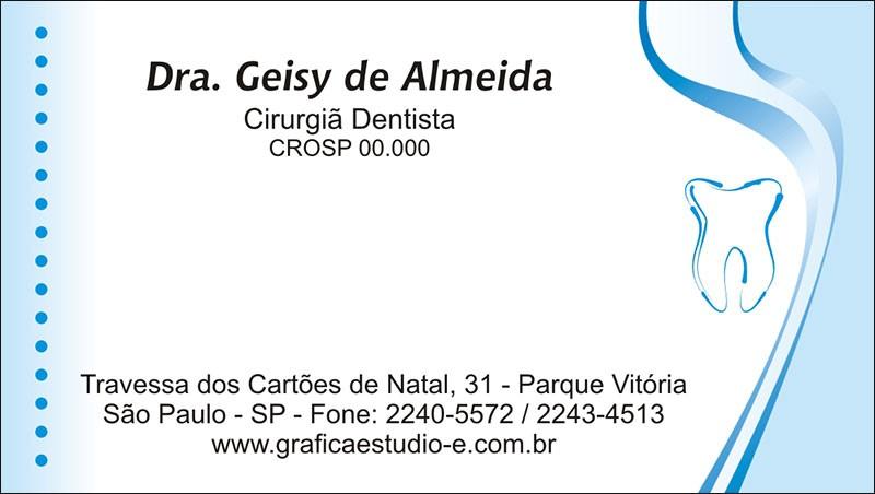 Cartão de Visita com Verniz - Cod: 029