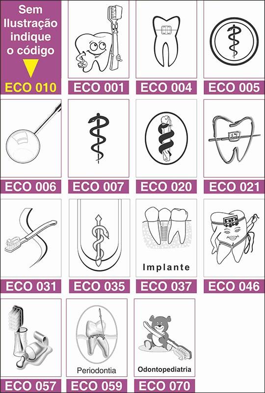 Atestado Odontológico Reciclado / Eco