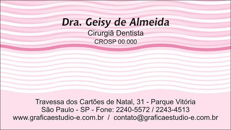 Cartão de Visita - Cod: 042