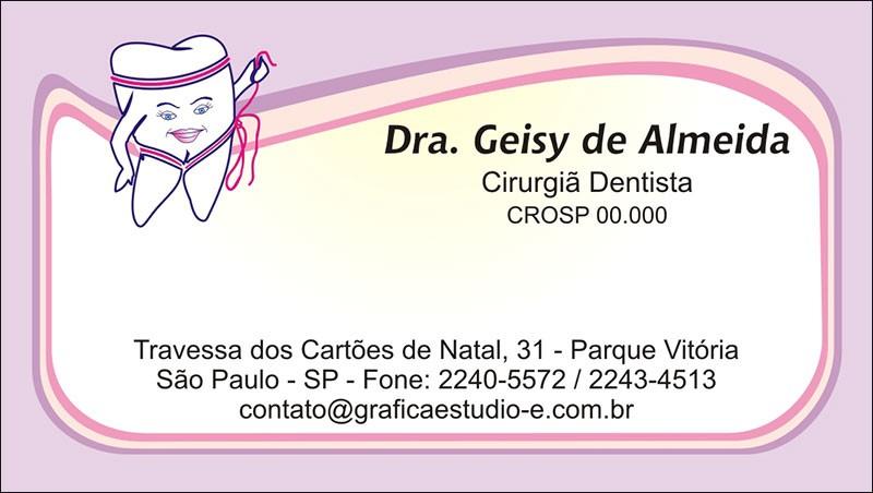 Cartão de Visita - Cod: 046