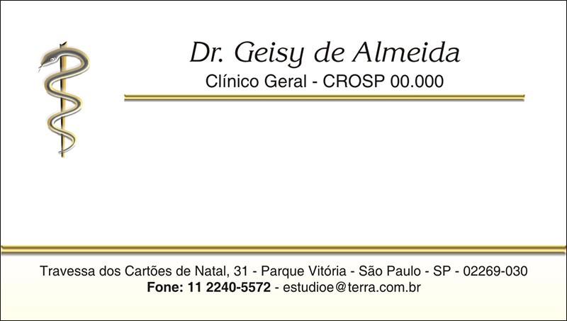 Cartão de Visita - Cod: 049