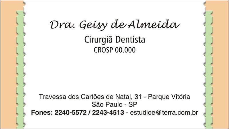 Cartão de Visita com Verniz - Cod: 064